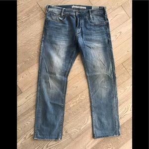 Men's Parasuco 32x34 blue jeans Mid Rise Regular